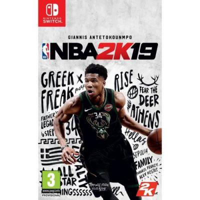 image Jeu NBA 2K19 sur Nintendo Switch