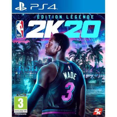 image Jeu NBA 2K20 - Edition Légende sur  Playstation 4 (PS4)