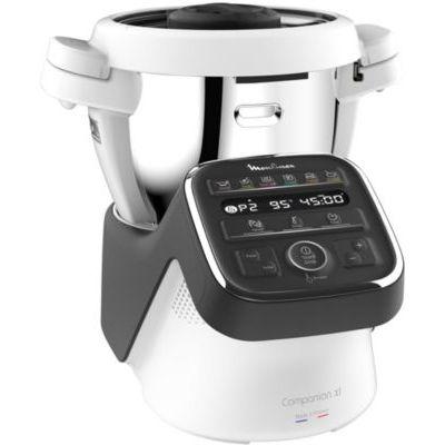 image Moulinex Companion XL Robot Cuiseur Bol XL Capacité 3L et 12 Programmes + La Bible officielle du Companion Relié – 9