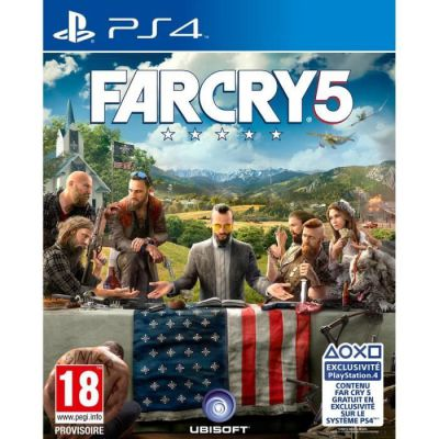 image Jeu Far Cry 5 sur playstation 4 (PS4)