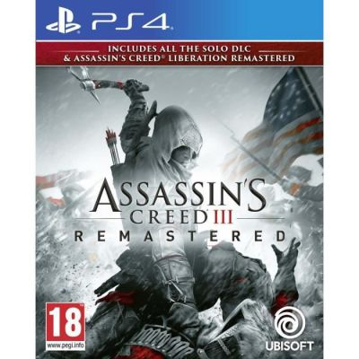 image Jeu Assassin's Creed III Remastered sur Playstation 4 (PS4)