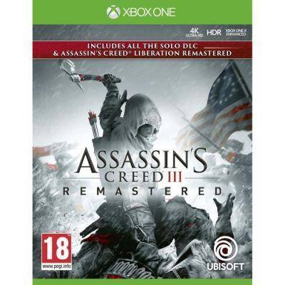 image Jeu Assassin's Creed III Remastered sur Xbox One