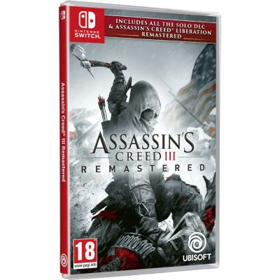 image Jeux Assassin's Creed 3 + Assassin's Creed Liberation Remaster sur Nintendo switch