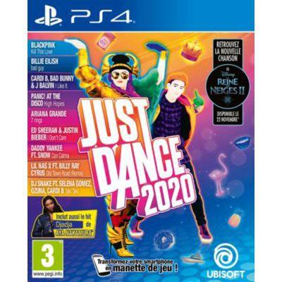 image Jeu  Ubisoft Just Dance 2020 sur playstation 4 (PS4)