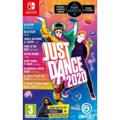 image Jeu Ubisoft Just Dance 2020  sur Nintendo Switch