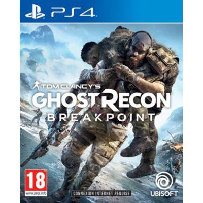 image Jeu Ubisoft Tom Clancy's Ghost Recon Breakpoint - PS4