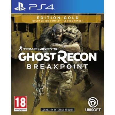 image Jeu Ghost Recon: Breakpoint - Edition Gold sur Playstation 4 (PS4)