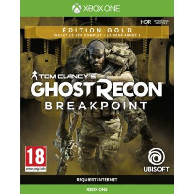 image Jeu Ghost Recon: Breakpoint - Edition Gold sur Xbox One