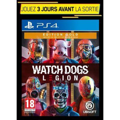 image Watch dogs Legion - Gold Edition sur playstation (PS4) avec Version PS5 incluse