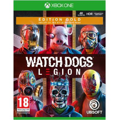 image Jeu Watch dogs Legion - Edition Gold sur Xbox One