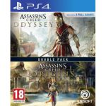 image produit Compilation Assassin's Creed Origins + Assassin's Creed Odyssey sur Playstation 4 (PS4)