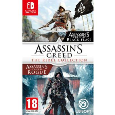 image Compilation Assassin's Creed : The Rebel Collection sur Nintendo Switch