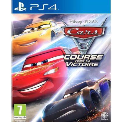 image Jeu Cars 3 Course Vers La Victoiresur Playstation 4 (PS4)