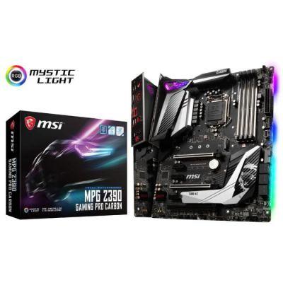 image MSI Carte mère MPG Z390 Gaming Pro Carbon, Intel Z390 - Socket 11 Noir