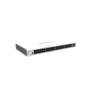 image NETGEAR Smart switch Cloud manageable par Insight 52ports Gigabit Ethernet (GC752X) - avec 2ports SFP 1Gigabit et 2ports SFP+ 10Gigabit, bureau/en rack