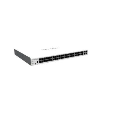 image Smart switch Cloud manageable par Insight PoE NETGEAR 52ports Gigabit Ethernet (GC752XP) - avec 48ports PoE+ @ 505W, 2ports SFP 1Gigabit et 2ports SFP+ 10Gigabit, bureau/en rack