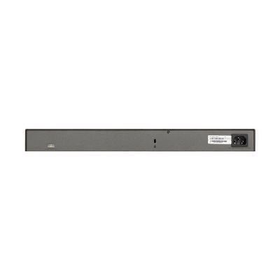 image NETGEAR Smart switch manageable professionnel empilable 28 ports Gigabit/10 Gigabit (GS728TX) - avec 2 ports cuivre 10 Gigabit, 2 ports SFP+ 10 Gigabit, bureau/en rack et protection à vie ProSAFE