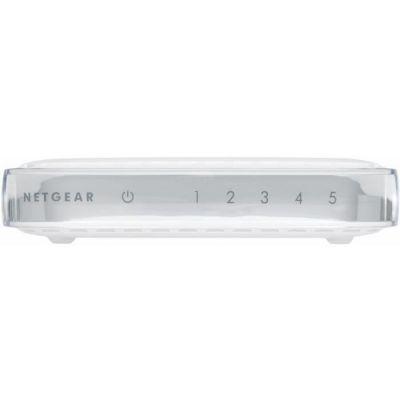 image NETGEAR (GS605) Switch Ethernet 5 Ports RJ45 Gigabit (10/100/1000) Blanc