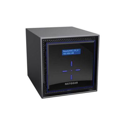 """image NETGEAR RN422D2-100NES Serveur ReadyNAS 422 - NAS 2 baies - 4 To - 2 baies hot swap pour disques durs SATA/SSD 2.5"""" ou 3.5"""" - Modèle livré 2 x 2 To Desktop - capacité maximale interne de 20To"""