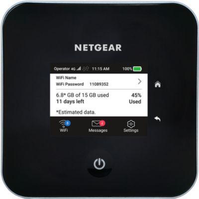 image NETGEAR Routeur mobile 4G, Nighthawk M2 Routeur 4G LTE MR2100 - débit descendant jusqu'à 2Gbps et jusqu'à 20 appareils connectables