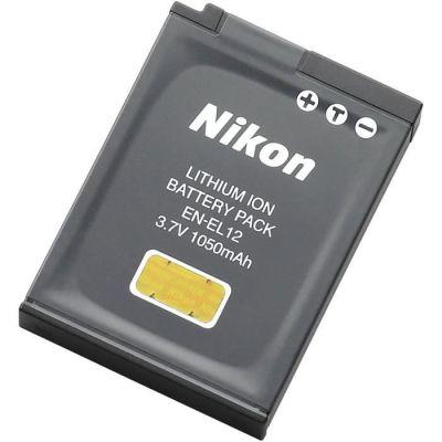 image NIKON Batterie EN-EL12 pour Coolpix S6000 / S7000 / S8000 / S9000 / AW100