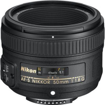 NIKON AF-S NIKKOR 50mm f/1,8 G Objectif pour appareil photo numérique Reflex