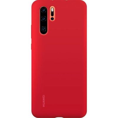 image HUAWEI Coque Rigide Finition Soft Touch pour P30 Pro Rouge