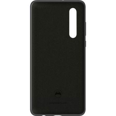 image HUAWEI Coque rigide finition soft touch noire pour Huawei P30