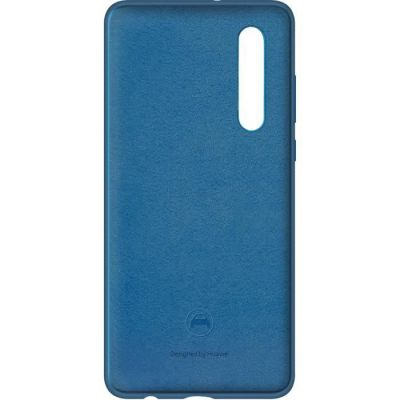 image HUAWEI Coque rigide finition soft touch bleue pour Huawei P30