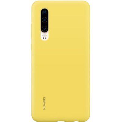 image HUAWEI Coque Rigide Finition Soft Touch pour P30 Jaune