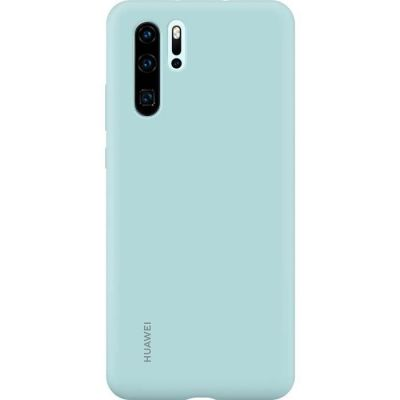 image HUAWEI Coque Rigide Finition Soft Touch pour P30 Pro Bleu Clair