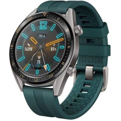 image Huawei Watch GT Active 46mm Montre Connectée GPS avec Bracelet Sport Vert