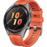 image produit Huawei Watch GT Active Montre Connectée (GPS, boîtier 46mm) avec Bracelet Sport Orange - livrable en France