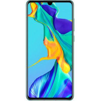 image Huawei P30 Smartphone débloqué 4G (6,1 pouces 6/128Go Double Nano SIM Android 9) Bleu aurora