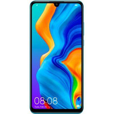 image Huawei P30 Lite Smartphone débloqué 4G (6,15 pouces - 128Go - Double Nano SIM - Android 9.0) Peacock Blue [Version Française]