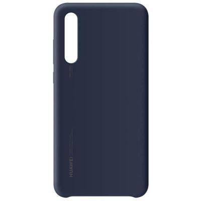 image Huawei Officiel Coque semi-rigide en silicone pour Huawei P20 Pro - Bleu foncé