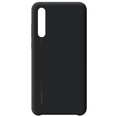 image Huawei Officiel Coque semi-rigide en silicone pour Huawei P20 Pro - Noir