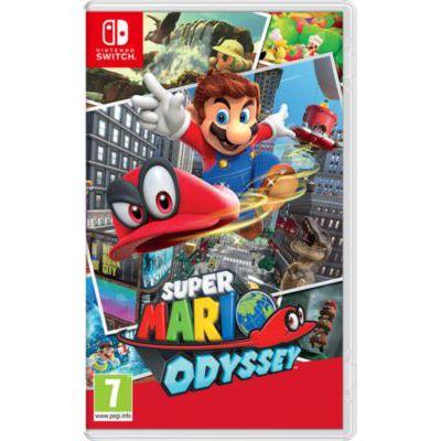image Jeu Super Mario Odyssey standard sur Nintendo Switch