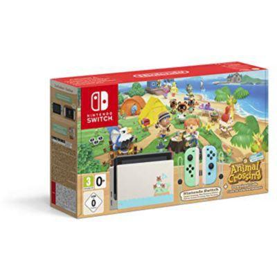 image Console Nintendo Switch Animal Crossing (Code de téléchargement du jeu inclus)