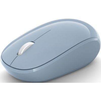 image Microsoft Bluetooth Mouse – souris Bluetooth pour PC, ordinateurs portables compatible Windows, Mac, Chrome OS (confortable, transportable, 2.4 GHz) – Bleu Pastel (RJN-00014)