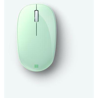 image Microsoft Bluetooth Mouse – souris Bluetooth pour PC, ordinateurs portables compatible Windows, Mac, Chrome OS (confortable, transportable, 2.4 GHz) – Menthe (RJN-00026)