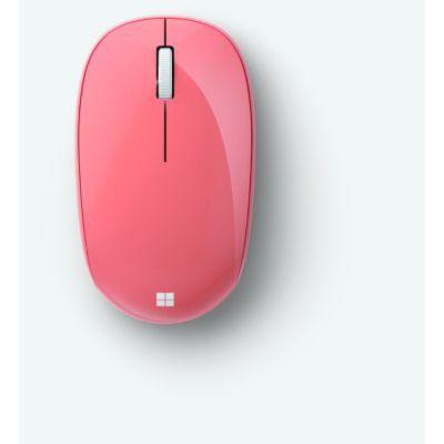 image Microsoft Bluetooth Mouse – souris Bluetooth pour PC, ordinateurs portables compatible Windows, Mac, Chrome OS (confortable, transportable, 2.4 GHz) – Pêche (RJN-00038)