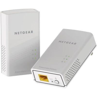NETGEAR PL1000-100PES Pack de 2 Prises CPL 1000 Mbps avec Port Ethernet, Compatible avec tous les Modèles de la gamme et toutes les Box Internet, Idéal pour le Multi-TV