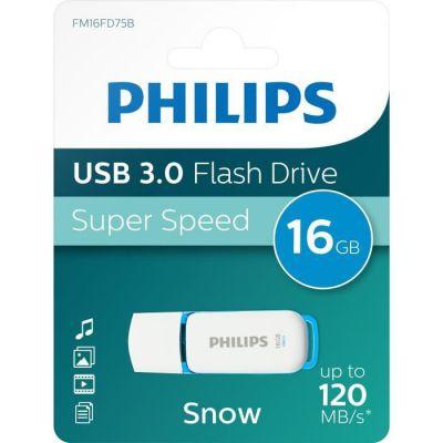 image Philips FM16FD75B/10 Bleu, Blanc