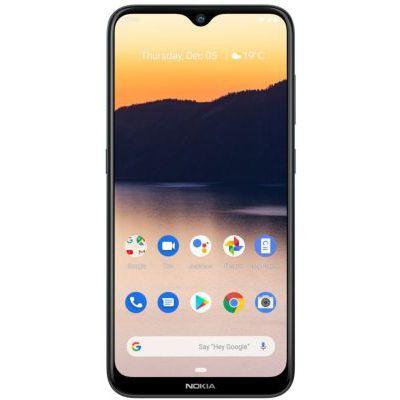 """image Nokia, 2.3, Smartphone débloqué, 4G, (6,21"""", 32Go, Double Nano SIM, Android 9.0) Gris foncé"""