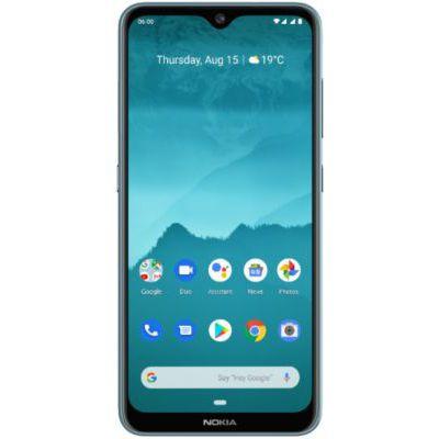 """image Nokia 6.2 - Smartphone débloqué 4G - (6,3 pouces - 64Go ROM - 4Go RAM - """"Double SIM"""" - Android One Pie 9.0) Bleu Glacial"""