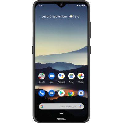 """image Nokia 7.2 - Smartphone débloqué 4G - (6,3 pouces - 128Go ROM - 6Go RAM - """"Double SIM"""" - Android One PIE 9.0) Gris Foncé"""
