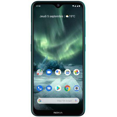 """image Nokia 7.2  Smartphone débloqué 4G  (6,3 pouces  128Go ROM  6Go RAM  """"Double SIM""""  Android One PIE 9.0) Vert"""