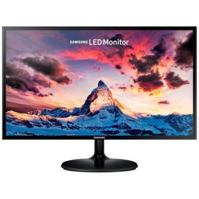 """image Samsung S24F354 Ecran PC, Dalle Pls 24"""", Résolution FHD (1920 x 1080), 60 Hz, 4ms, AMD Freesync, Noir"""