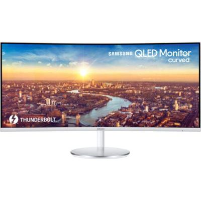image Ecran PC Incurvé 34 pouces Samsung C34J791WTU ( Ultra Wide QHD (3440 x 1440), ThunderBolt 3, 100 Hz , 4ms, AMD FreeSync)